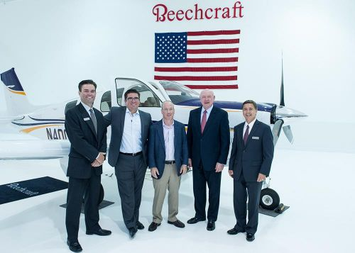 Beech-4000th-Delivery